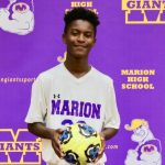 Marion Giant Boys Soccer travels to Arsenal Tech