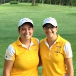 Lady Giant Golf plays at Huntington
