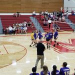 Marion Lady Giant Volleyball at Mississinewa