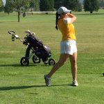 Lady Giant Golf plays in the Sectional