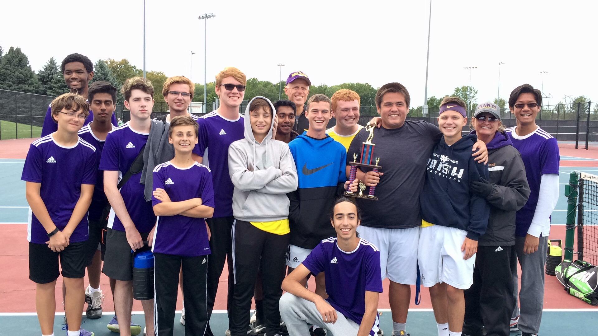 Marion Giant Boys Tennis wins Wildkat Open