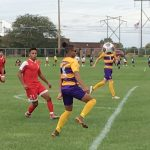 Marion Giant Boys Soccer team finishes  7th in the NCC