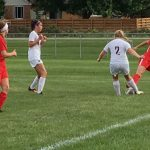 Marion Lady Giant Soccer team finishes 4th in the NCC
