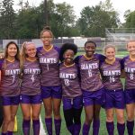 Marion Lady Giant Soccer wins on Senior night
