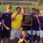 Marion Giant Boys Tennis wins Sectional