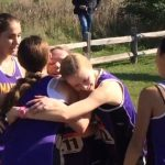 🏃‍♀️The Marion Lady Giants running in the 2018 NCC Girls XC Championships at IWU (9/29)