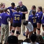 Marion Lady Giant Volleyball travels to Madison-Grant