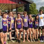 Marion Giant Boys and Girls XC  run in Sectional