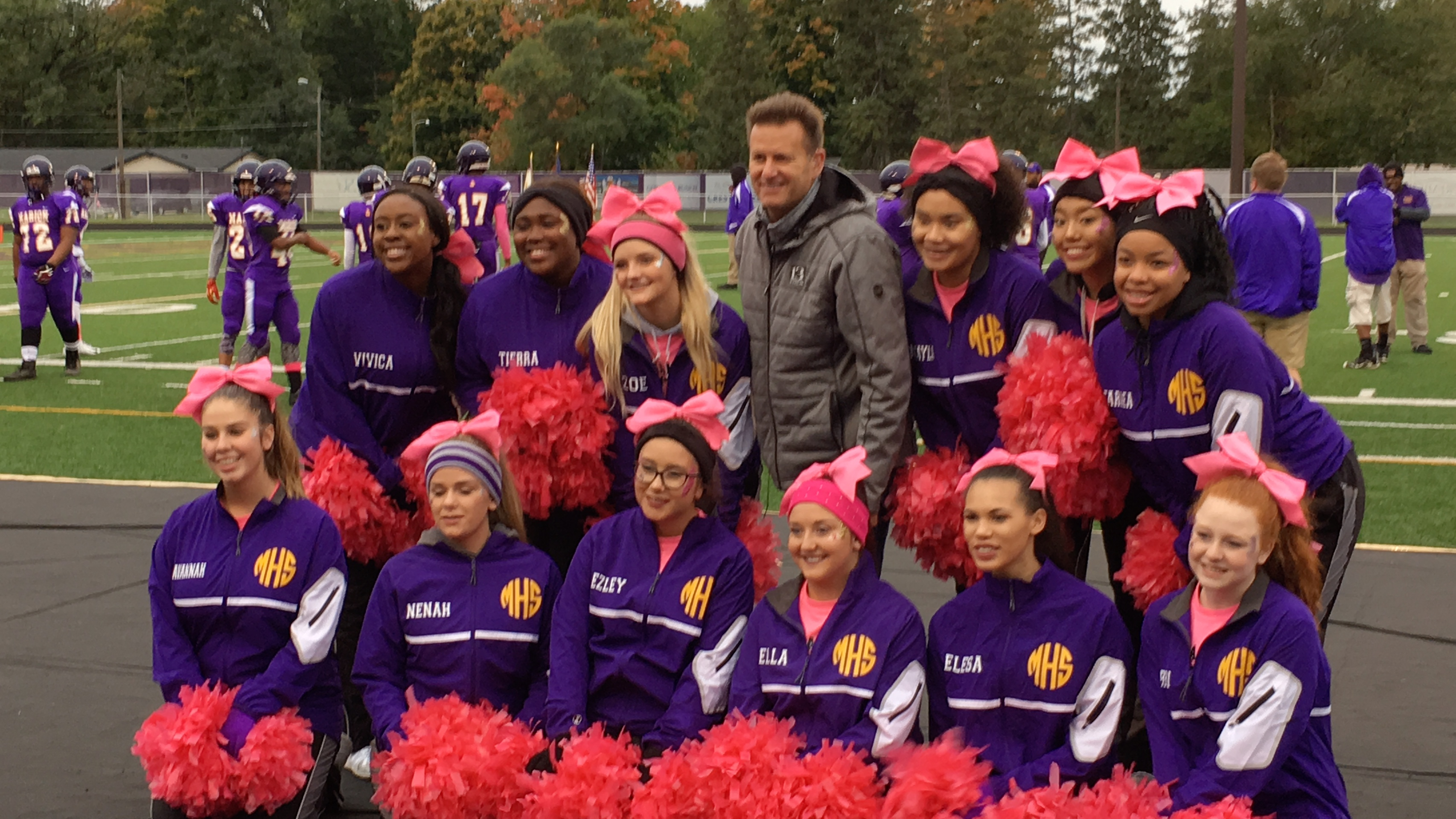 Dave Calabro and WTHR's Operation Football make a return visit to MHS