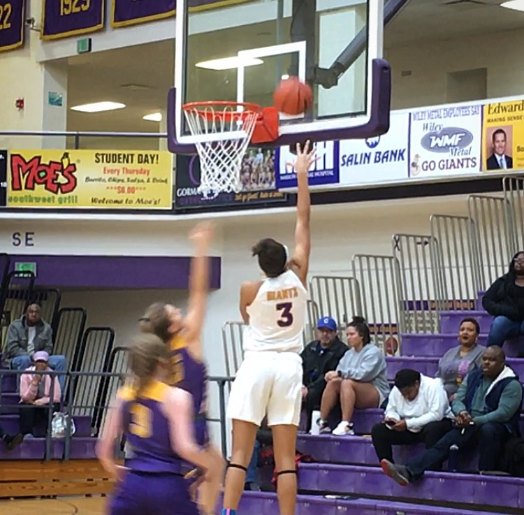 Marion Lady Giant Jazmyn Turner joins the 1000 Point Club