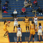 The Marion Lady Giants roll over the Wildkats 59-18