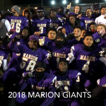 """TOUCHDOWN GIANTS"" The 2018 Marion Giants"