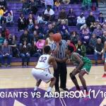 """REWIND""… Marion Giants vs Anderson 1/16/2018"
