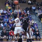 """""""REWIND""""…Marion Giants vs Lafayette Jeff (1/19/18)"""