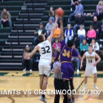 "Marion Giants ""Rewind""…Marion vs Greenwood (2/10/2018)"