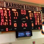 The Marion Giants Boys Basketball team wins the NCC