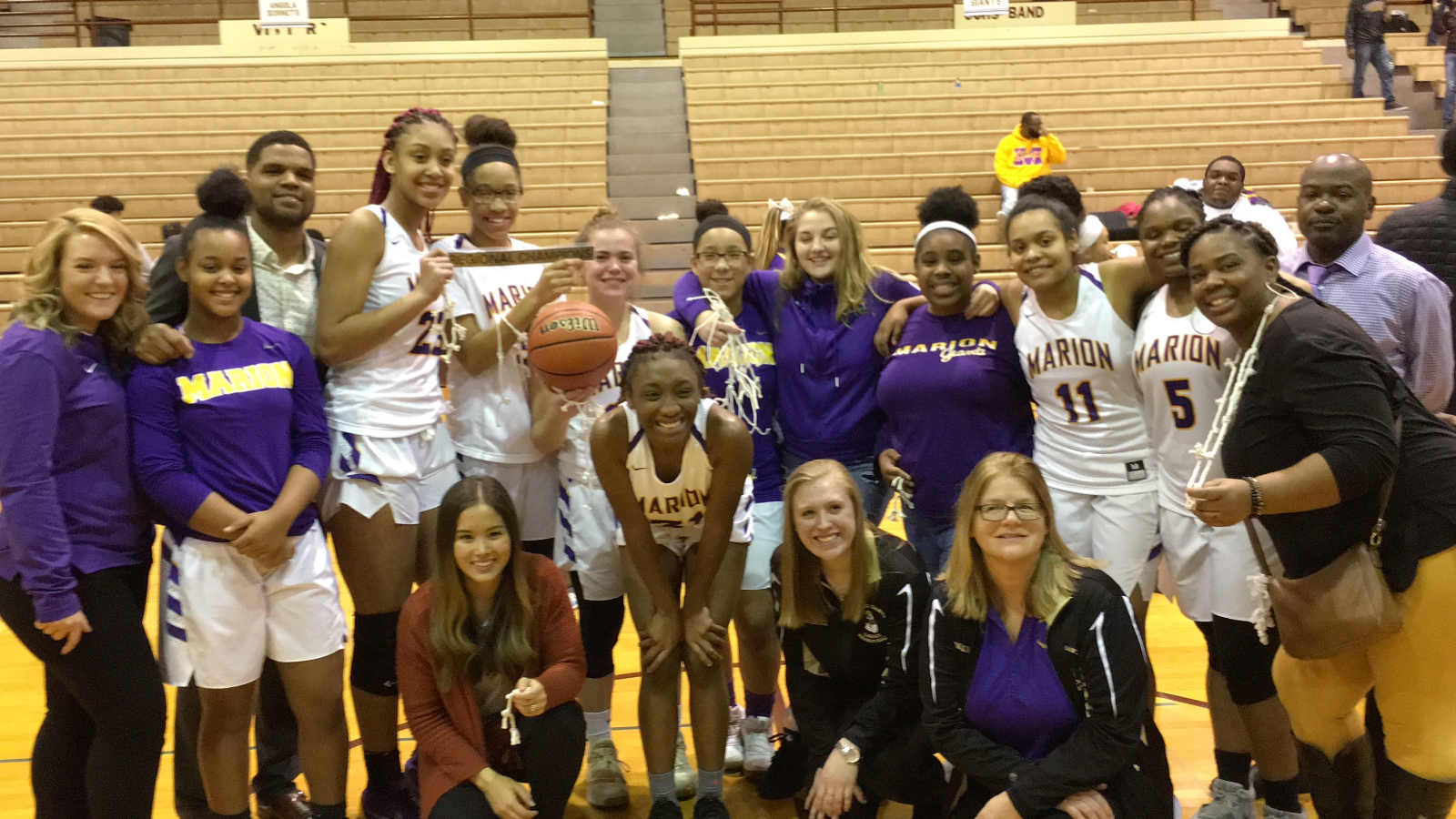 Congratulations Marion Lady Giants #GFND