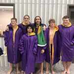 Marion Giant Boys Swim Team Senior Night
