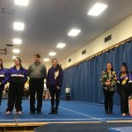 Marion Lady Giants Gymnastic Team Senior Night