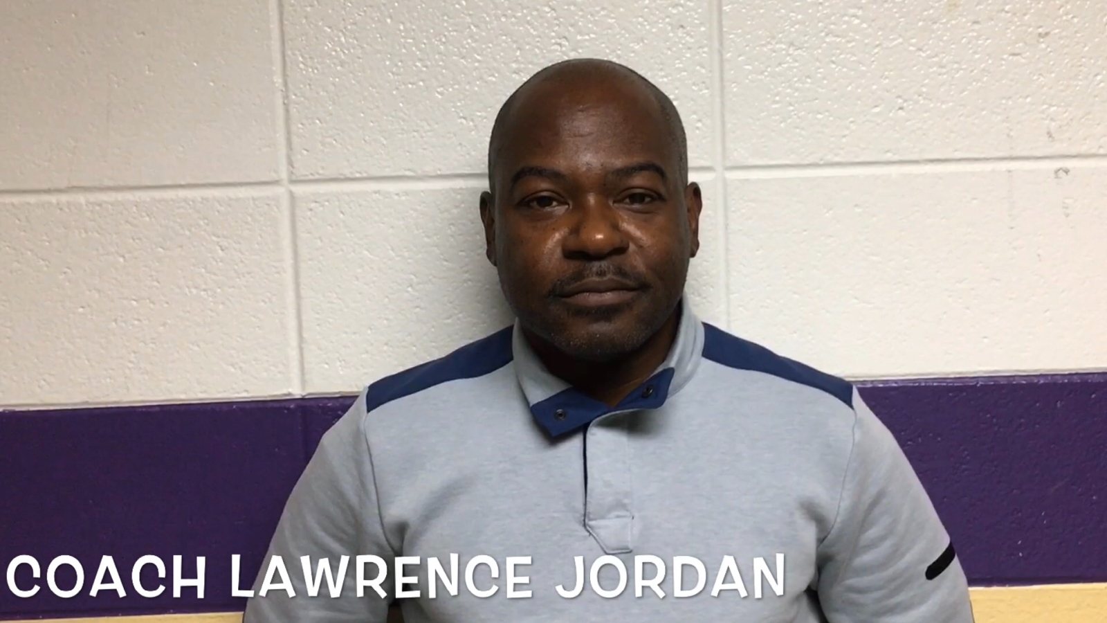 Congratulations to Coach Lawrence Jordan