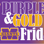 Join us for Purple & Gold Friday!