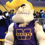 "The Marion Giants ""Flip"" over their new Mascot #GFND"