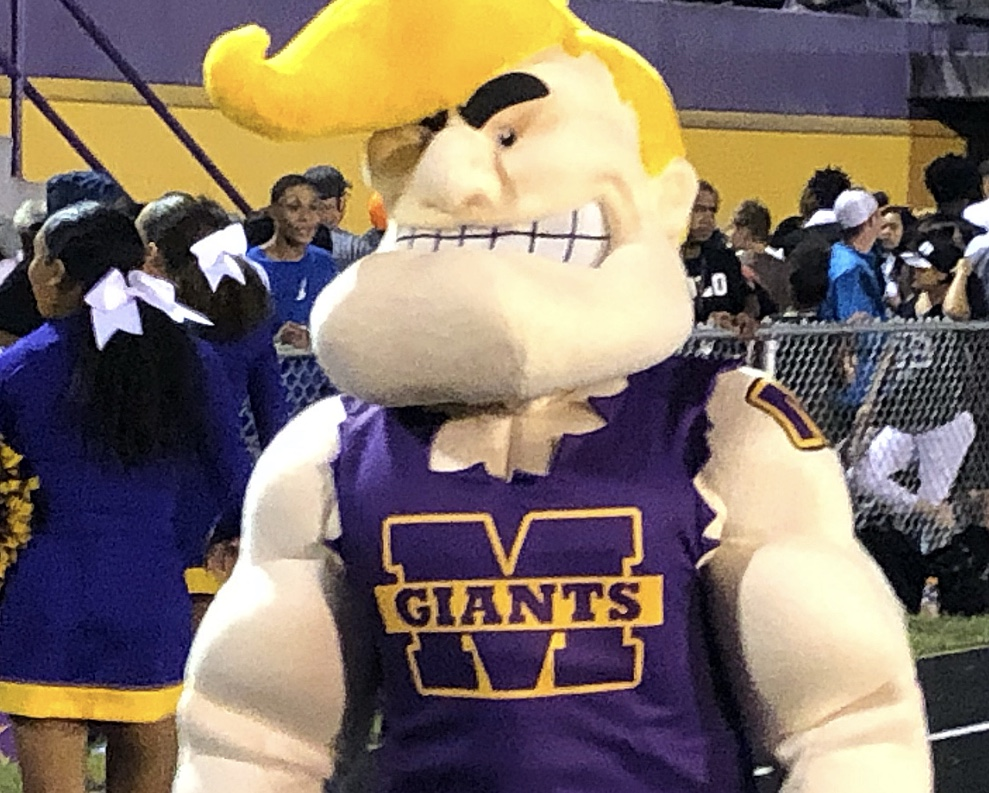 """The Marion Giants """"Flip"""" over their new Mascot #GFND"""