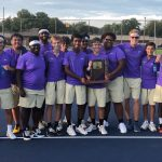The Marion Giants win the Boys Tennis Sectional
