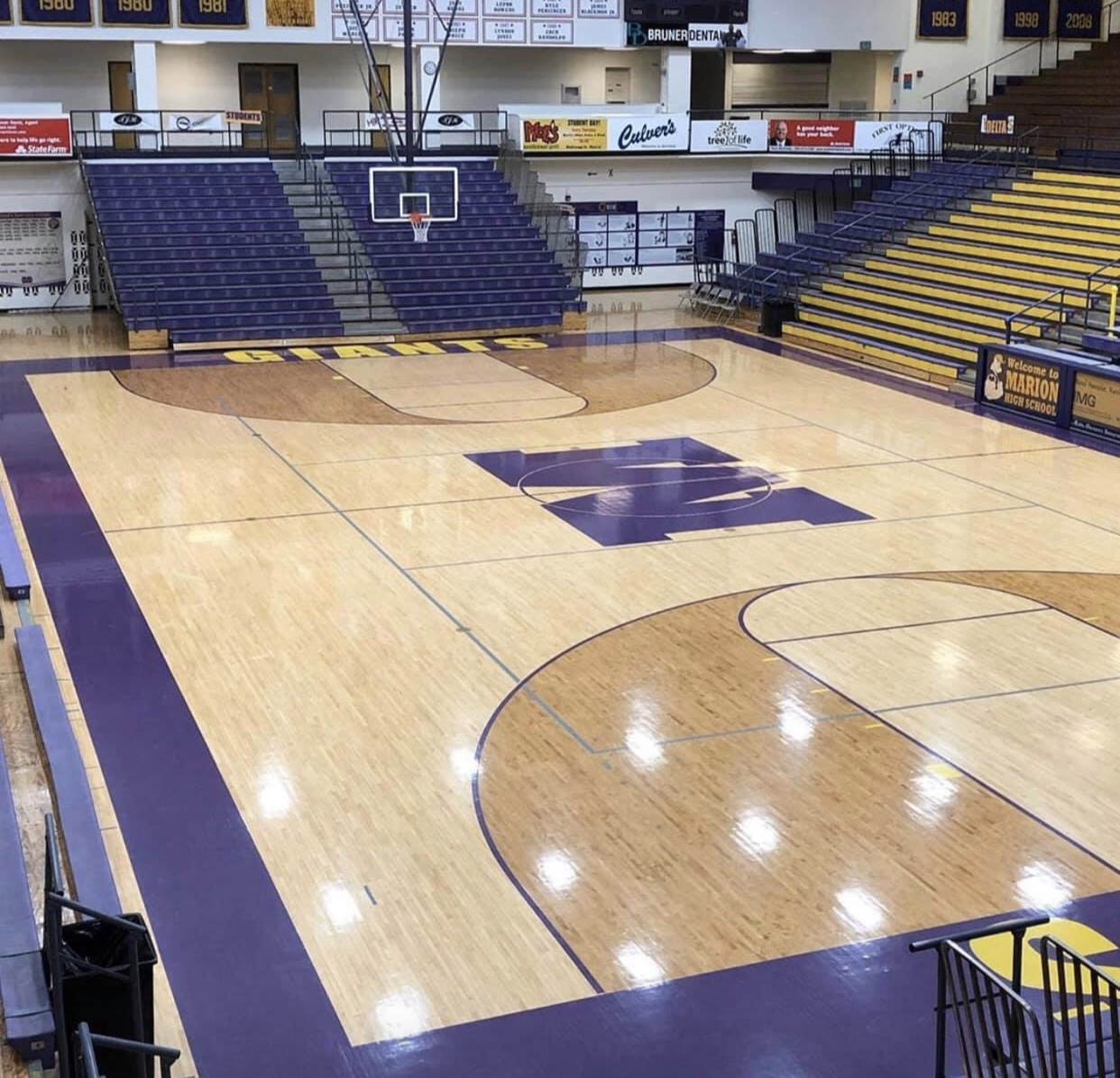 Marion Giant Boys Basketball Schedule 2019-2020
