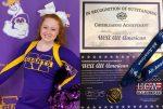 Vermilion named UCA All-American Cheerleader