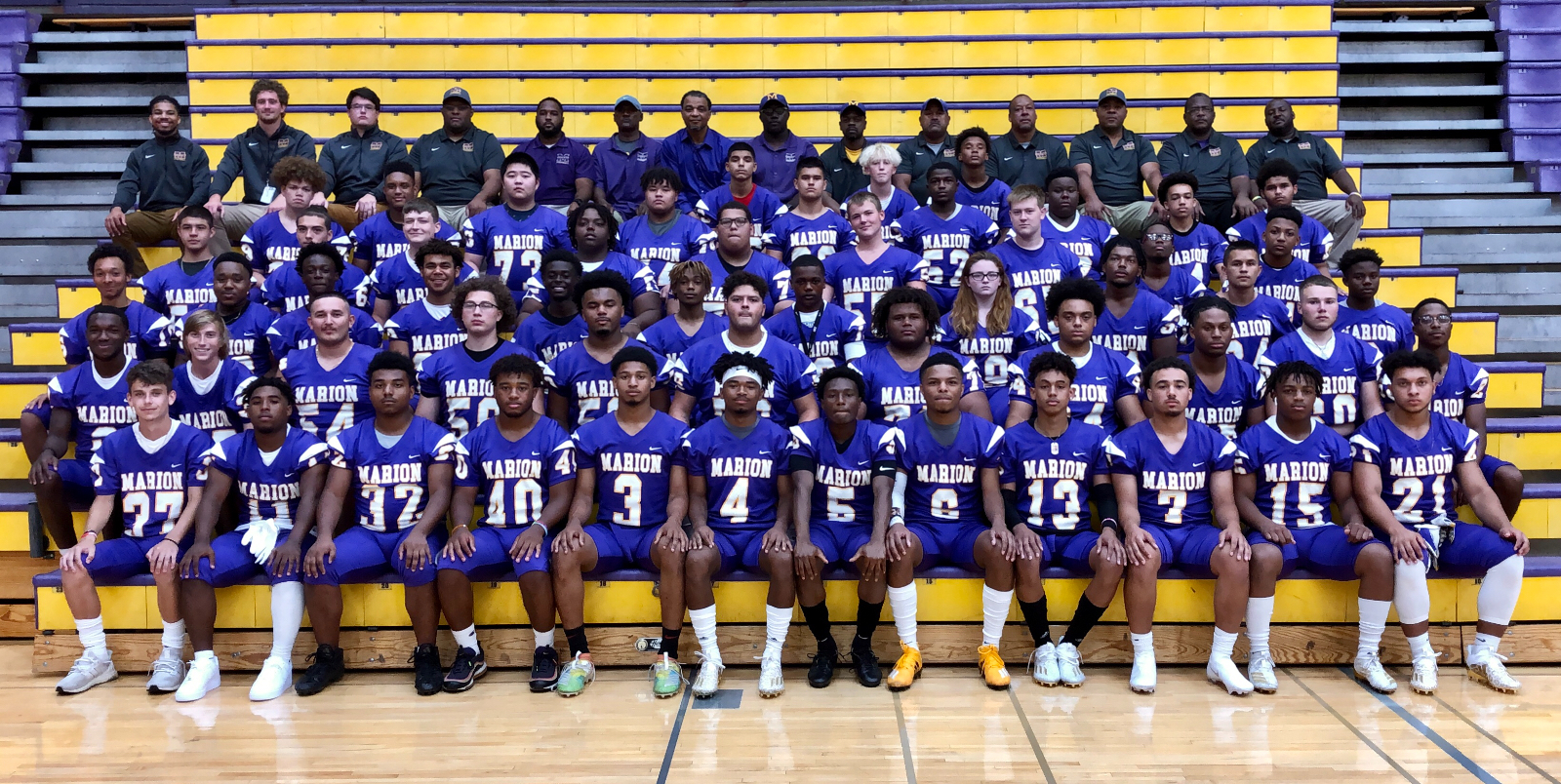 Marion takes on Hobart this Friday for football semi-state title
