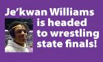Je'kwan Williams advances to wrestling state finals