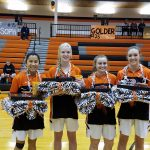 MHS Girls Basketball Senior Night