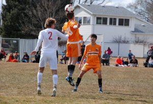 Boys Soccer at American Fork 3-13-18