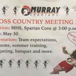 Cross Country Meeting