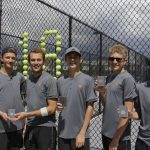 Tennis Qualified 5 for State Tournament