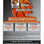 MHS Boys Basketball Camp June 5-8