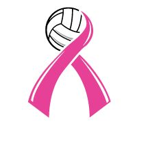 MHS Volleyball Breast Cancer Awareness Month
