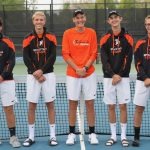 Spartan Tennis 4th in Region, 5 State Qualifiers
