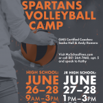 2019 Murray Spartans Volleyball Camp
