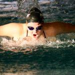Girls Swim Team Dominant Against Jordan