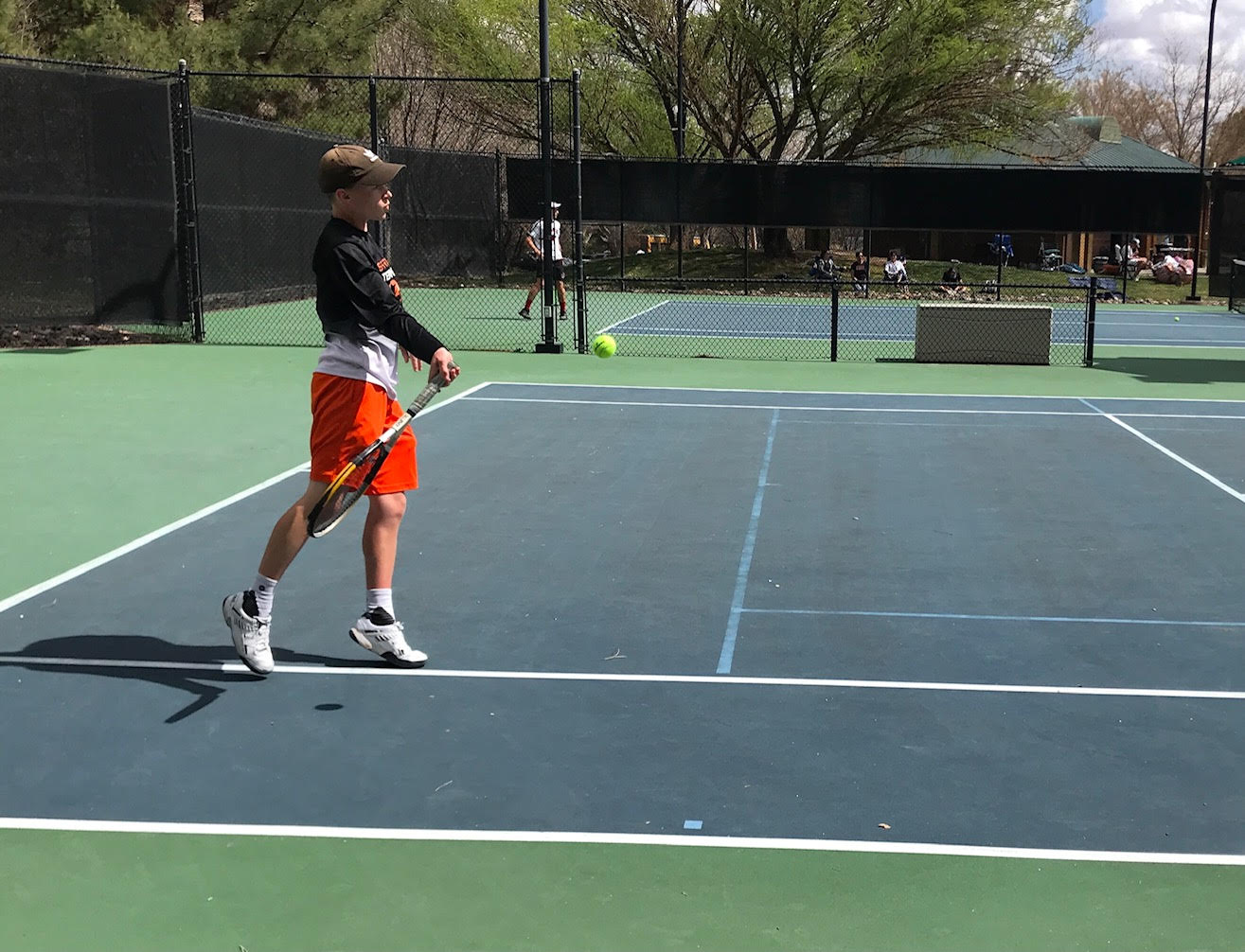 Boys Tennis Fares Well at the St George Invitational