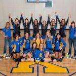 Kearsley High School Volleyball Varsity beats Holly High School 25-20