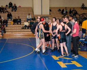 Wrestling defeats Fenton and Lapeer West