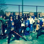 Kearsley Girl's Tennis assists Mother Nature