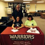 Major signs with Rochester College