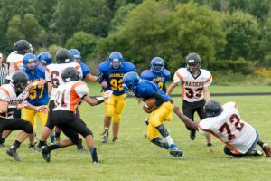 Freshmen Football vs. Flushing – 9/11/14