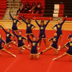 Competitive Cheer finishes 3rd place in final Flint Metro League standings