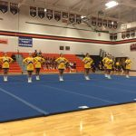 Competitive cheer finishes 3rd place in Flint Metro League