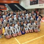 Competitive Cheer finishes 2nd at MHSAA district; advances to regionals in Allen Park